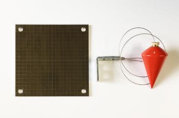 マテリアルリサーチの免震下げ振り装置